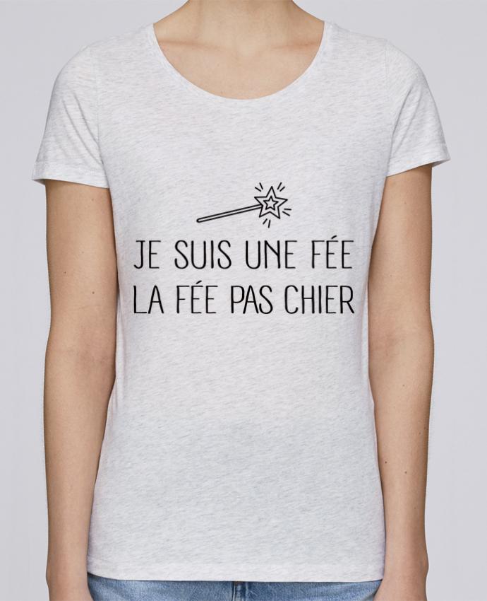 Camiseta Mujer Stellla Loves Je suis une fée la fée pas chier por Freeyourshirt.com