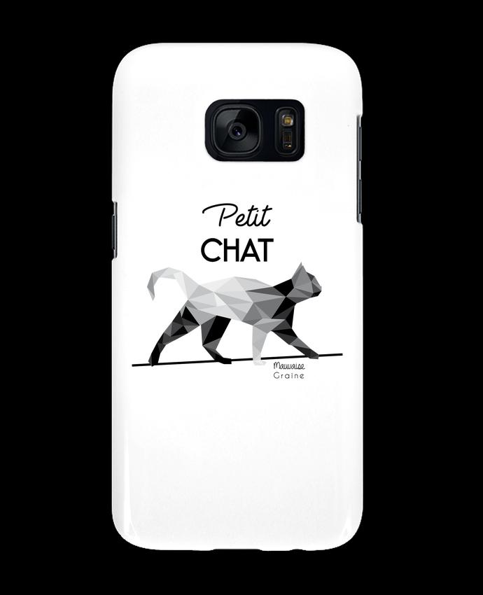 Carcasa Samsung Galaxy S7 Petit chat origami por Mauvaise Graine