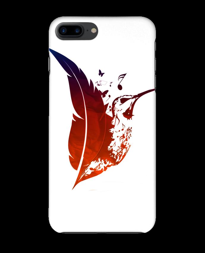 Carcasa Iphone 7+ plume colibri por Studiolupi