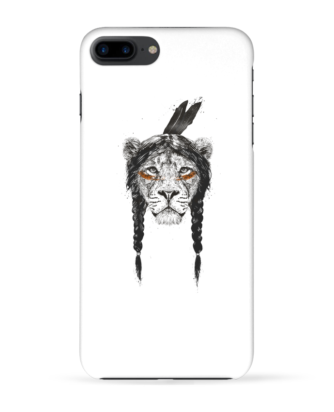 Carcasa Iphone 7+ warrior_lion por Balàzs Solti