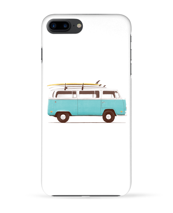 Carcasa Iphone 7+ Blue van por Florent Bodart