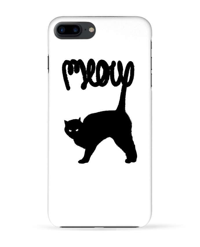 Carcasa Iphone 7+ Meow por Florent Bodart