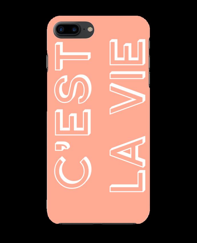 Carcasa Iphone 7+ C'est la vie por tunetoo