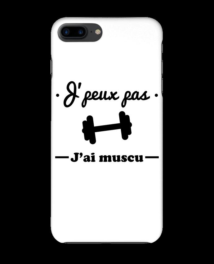 Carcasa Iphone 7+ J'peux pas j'ai muscu, musculation por Benichan