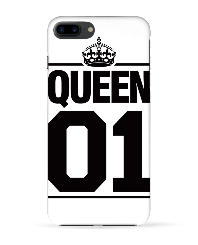 Carcasa Iphone 7+ Queen 01 por Freeyourshirt.com