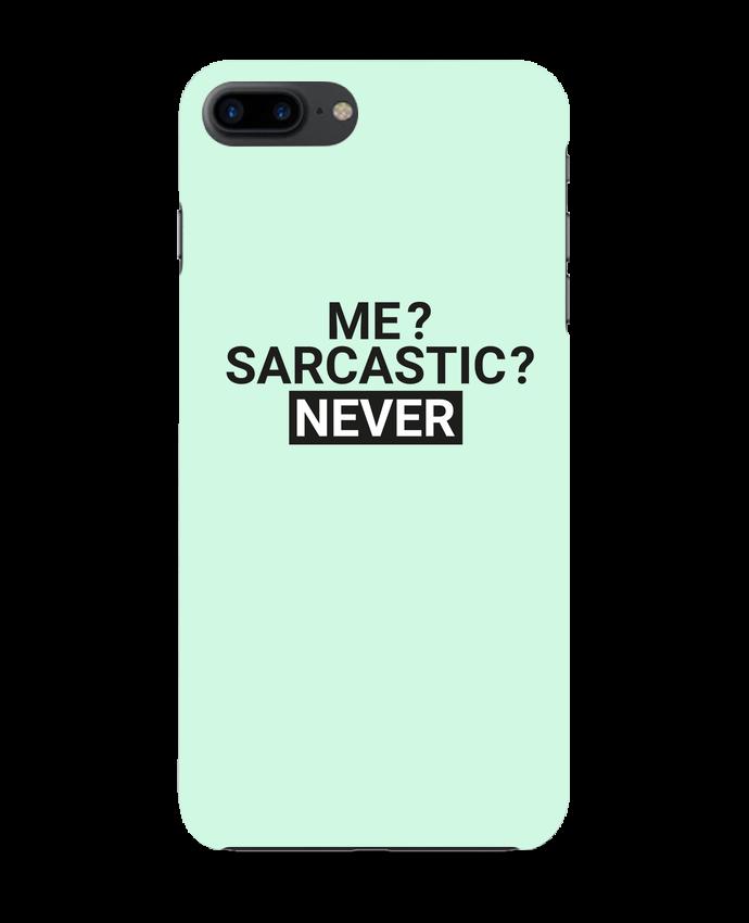 Carcasa Iphone 7+ Me sarcastic ? Never por tunetoo
