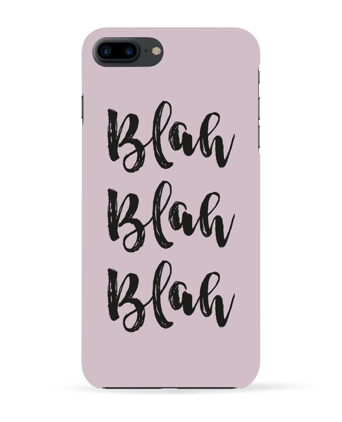 Carcasa Iphone 7+ Blah Blah Blah ! por tunetoo