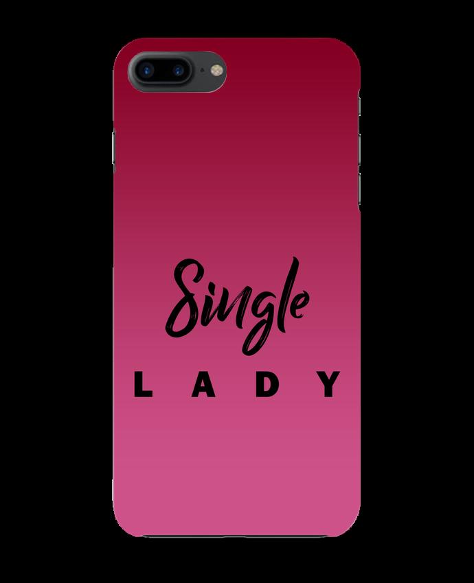 Carcasa Iphone 7+ Single lady por tunetoo