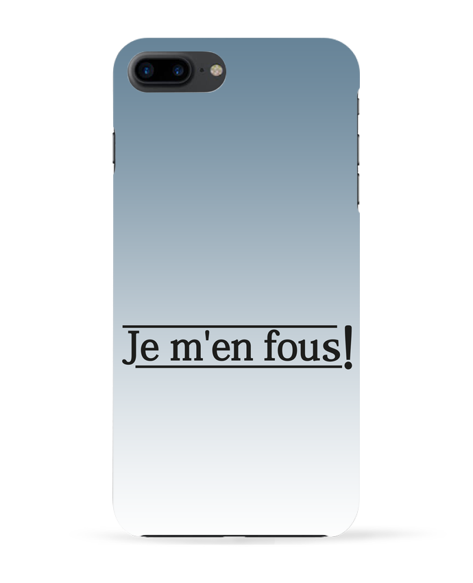 Carcasa Iphone 7+ Je m'en fous ! por tunetoo