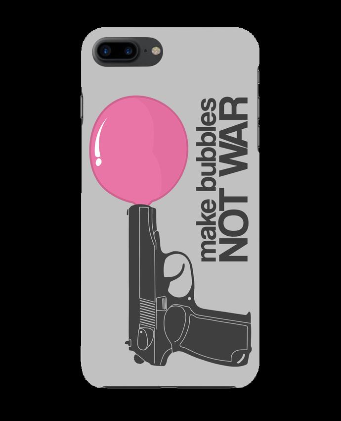 Carcasa Iphone 7+ Make bubbles NOT WAR por justsayin