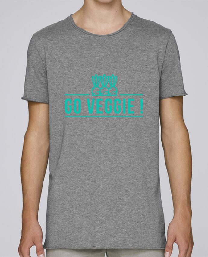 Camiseta Hombre Tallas Grandes Stanly Skates Go veggie ! por Folie douce