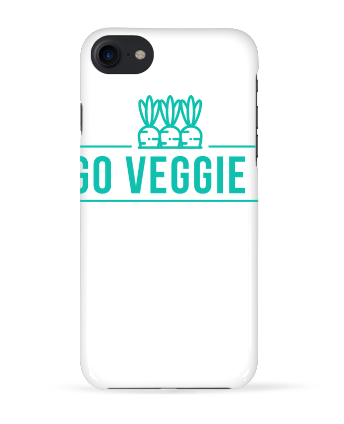 Carcasa Iphone 7 Go veggie ! de Folie douce