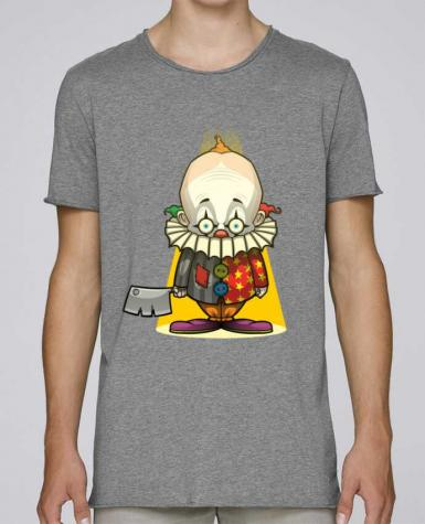 Camiseta Hombre Tallas Grandes Stanly Skates Choppy Clown por SirCostas