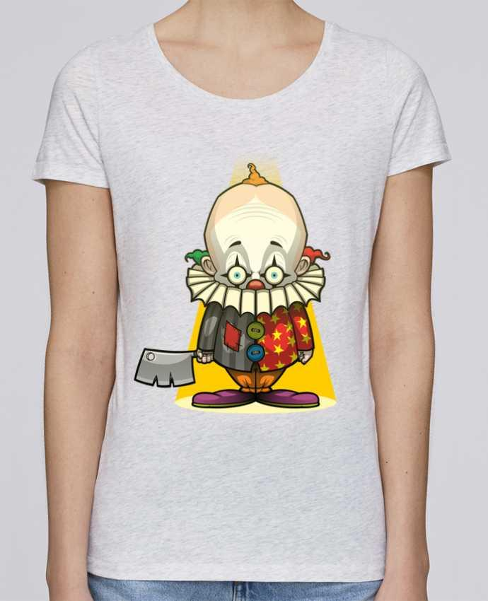 Camiseta Mujer Stellla Loves Choppy Clown por SirCostas
