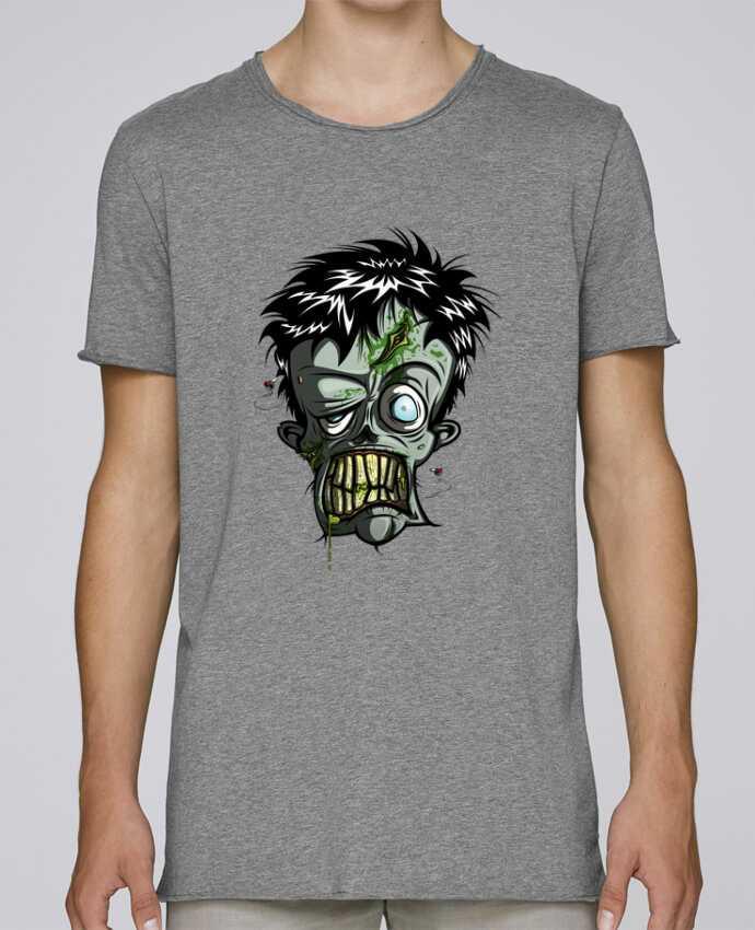 Camiseta Hombre Tallas Grandes Stanly Skates Toxic Zombie por SirCostas