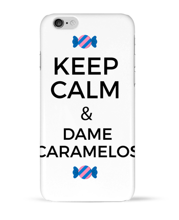 Carcasa 3D Iphone 6  Keep Calm and Dame Caramelos por tunetoo