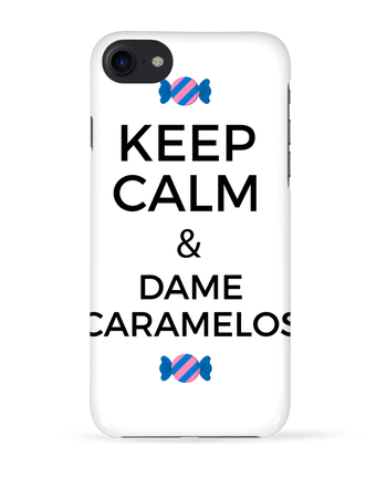 Carcasa 3D Iphone 7 Keep Calm and Dame Caramelos de tunetoo