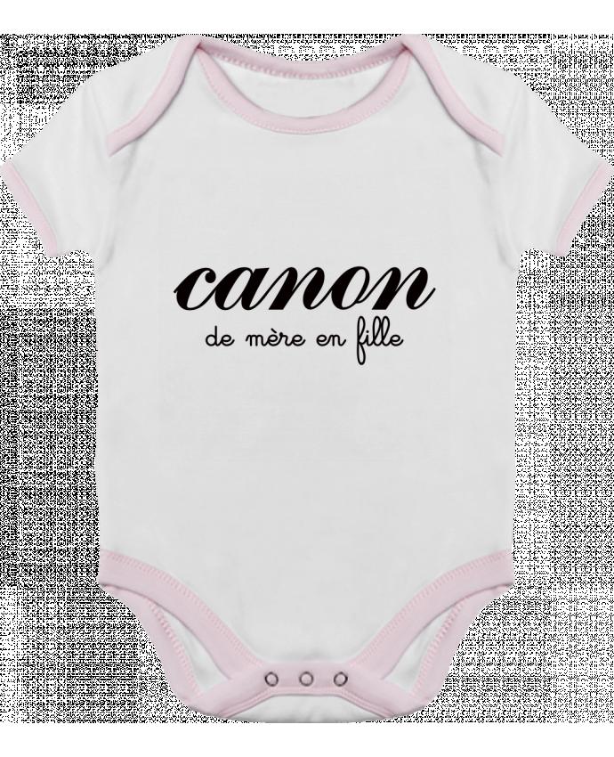 Body Bebé Contraste Canon de mère en fille por Freeyourshirt.com