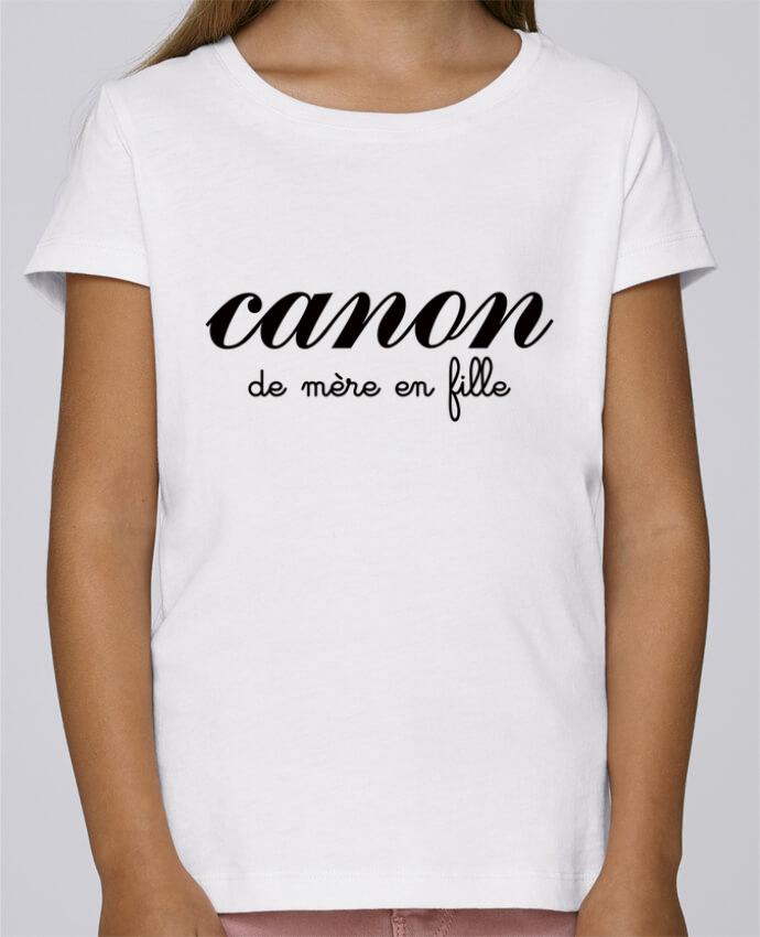 Camiseta Niña Stella Draws Canon de mère en fille por Freeyourshirt.com