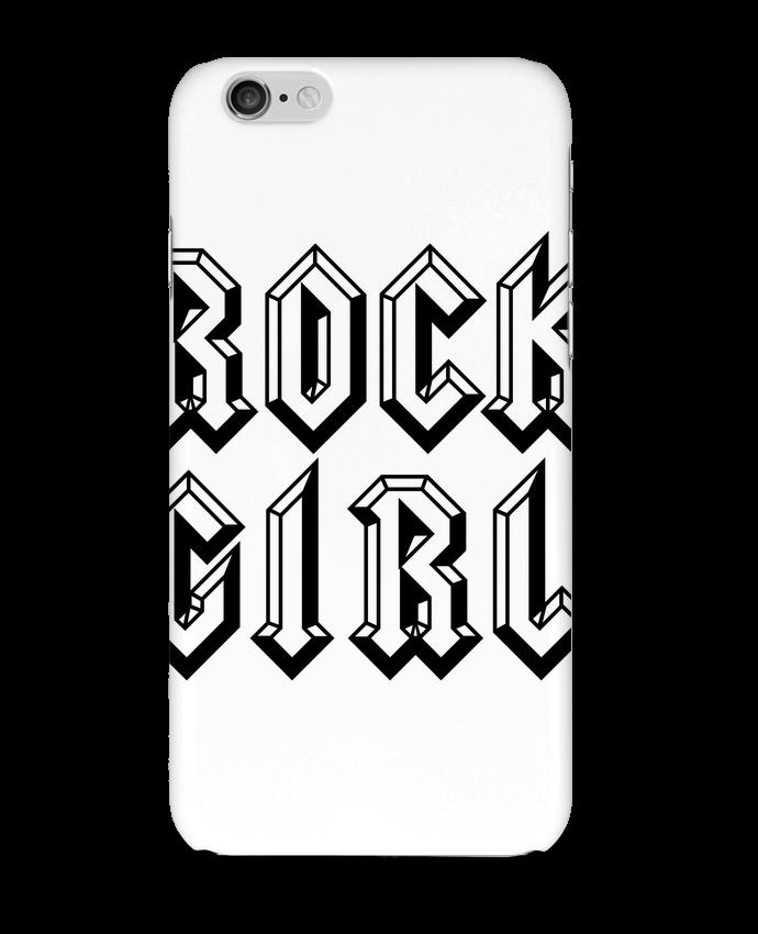 Carcasa  Iphone 6 Rock Girl por Freeyourshirt.com