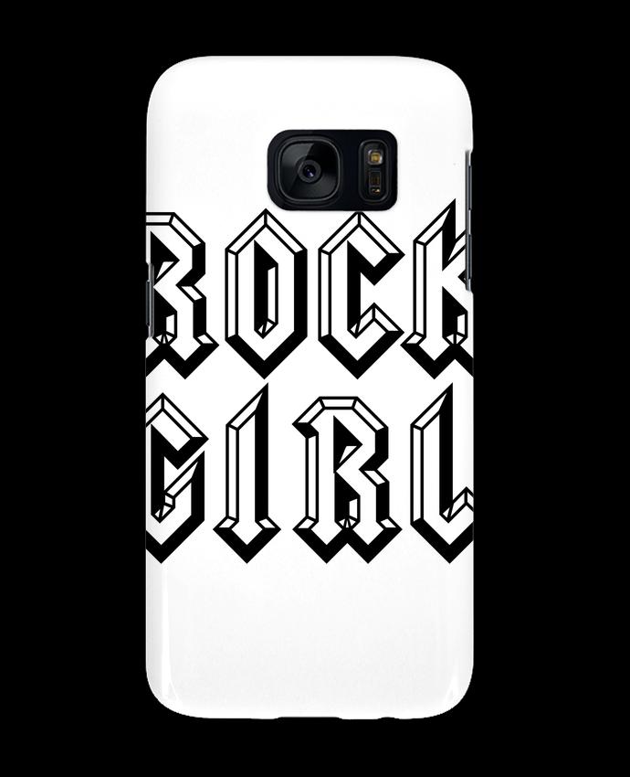 Carcasa Samsung Galaxy S7 Rock Girl por Freeyourshirt.com