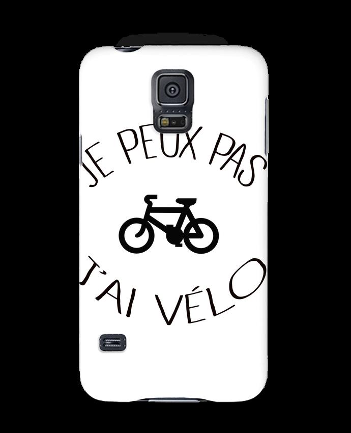 Carcasa Samsung Galaxy S5 Je peux pas j'ai vélo por Freeyourshirt.com