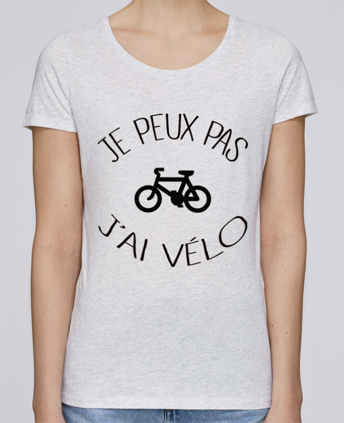 Camiseta Mujer Stellla Loves Je peux pas j'ai vélo por Freeyourshirt.com