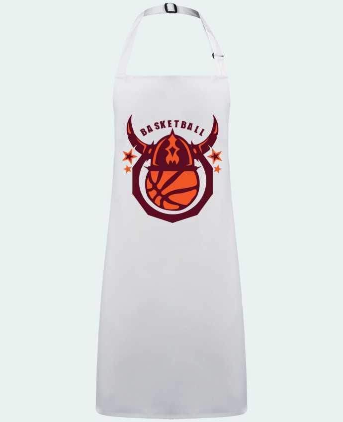 Delantal Sin Bolsillo basketball casque viking logo sport club por  Achille