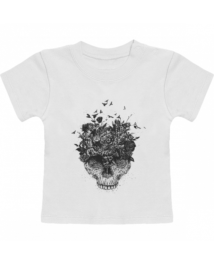 Camiseta Bebé Manga Corta My head is a jungle manches courtes du designer Balàzs Solti