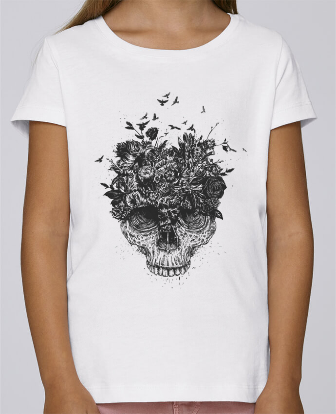Camiseta Niña Stella Draws My head is a jungle por Balàzs Solti
