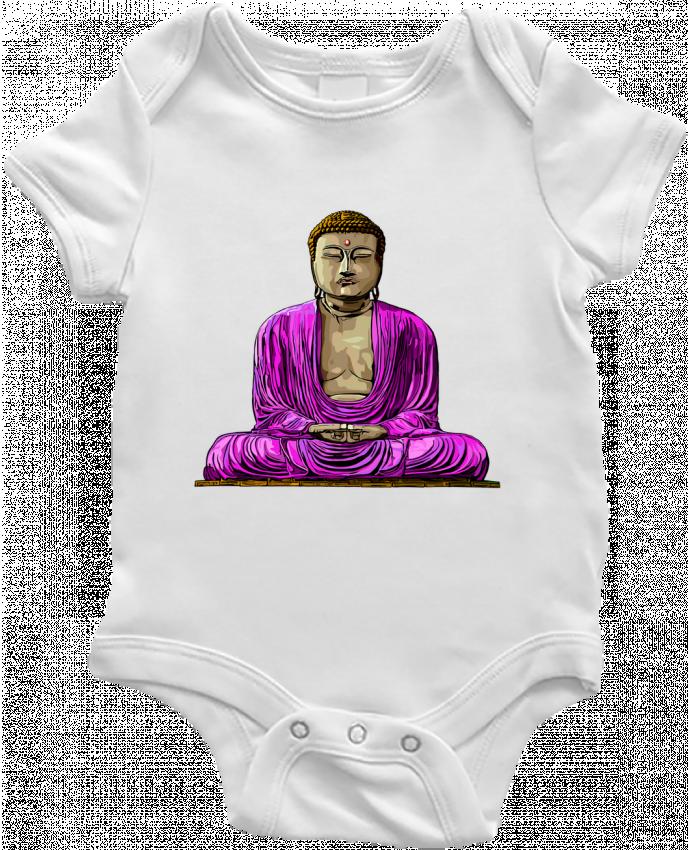 Body Bebé Bouddha Pop por Numartis