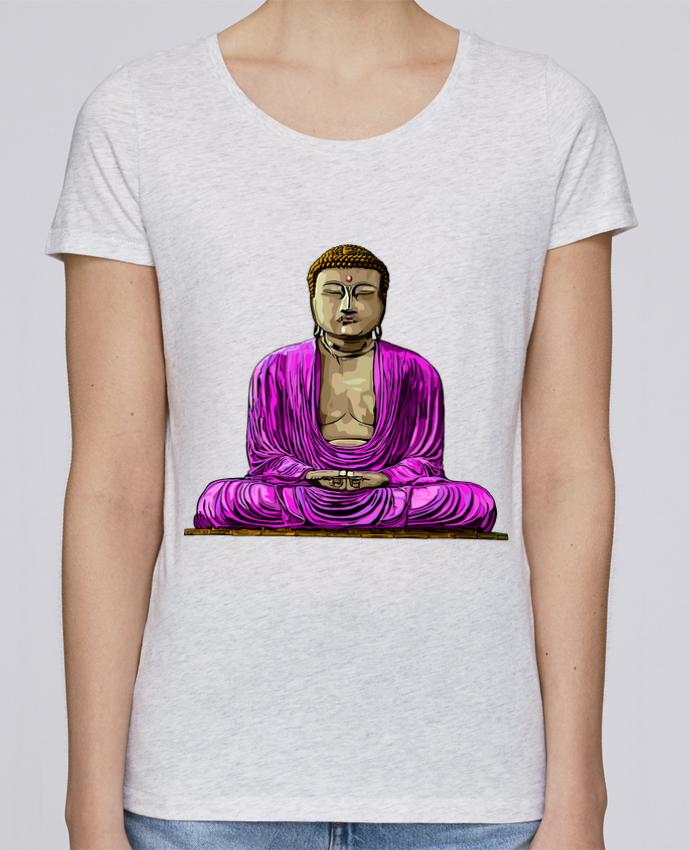 Camiseta Mujer Stellla Loves Bouddha Pop por Numartis