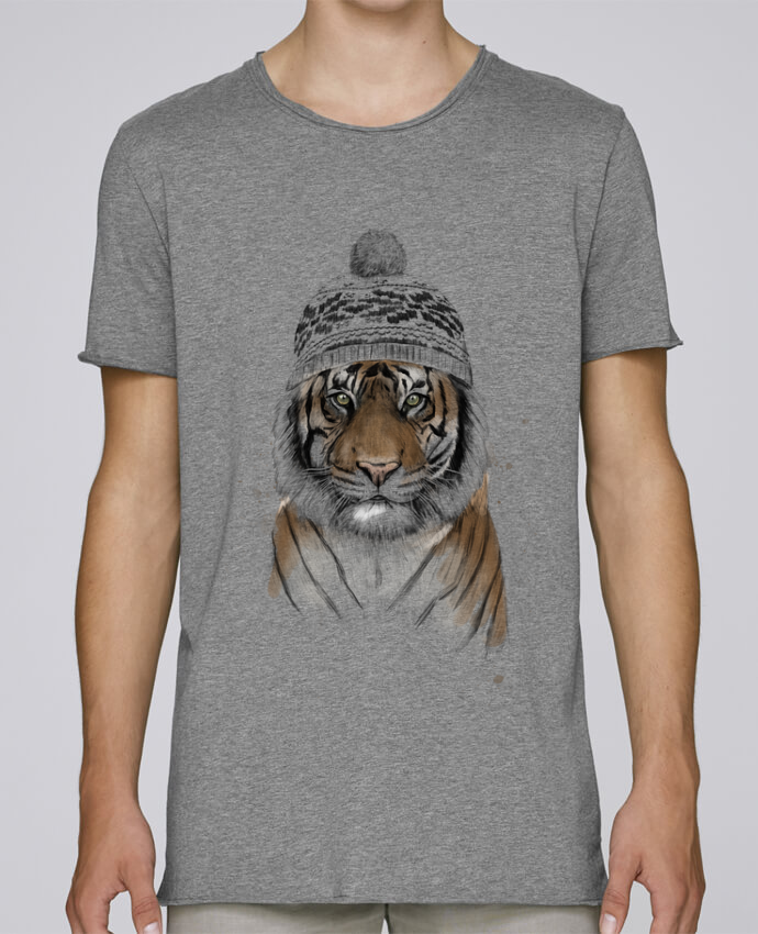 Camiseta Hombre Tallas Grandes Stanly Skates Siberian tiger por Balàzs Solti