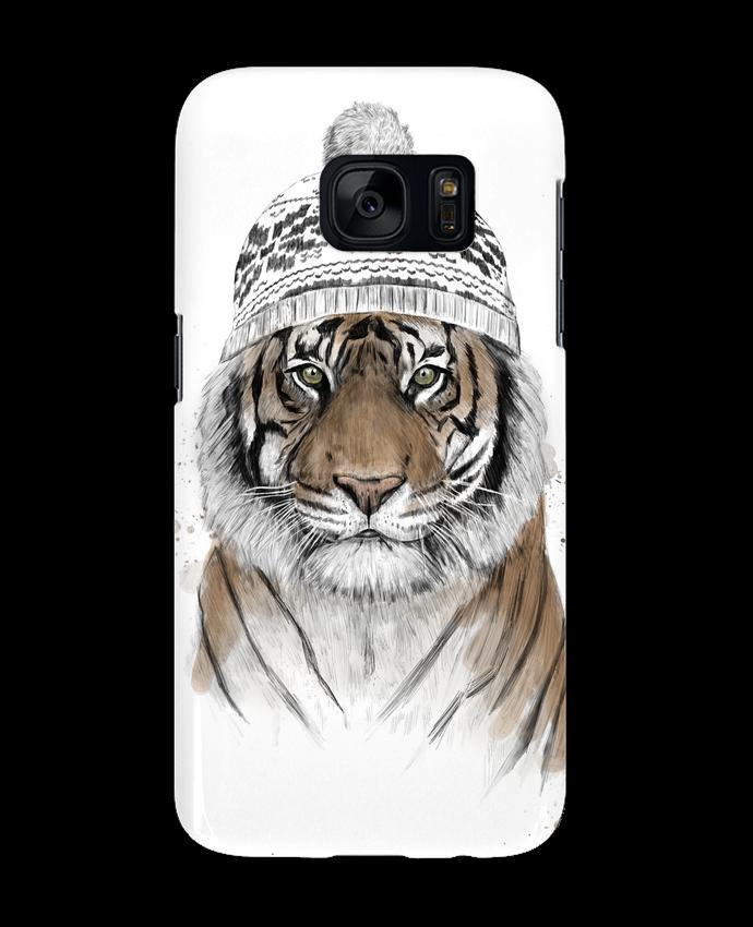 Carcasa Samsung Galaxy S7 Siberian tiger por Balàzs Solti