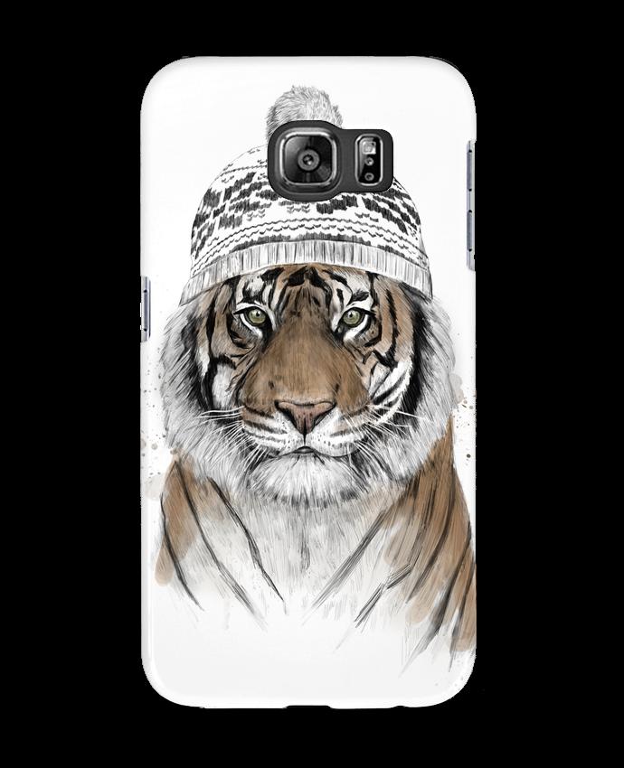 Carcasa Samsung Galaxy S6 Siberian tiger - Balàzs Solti