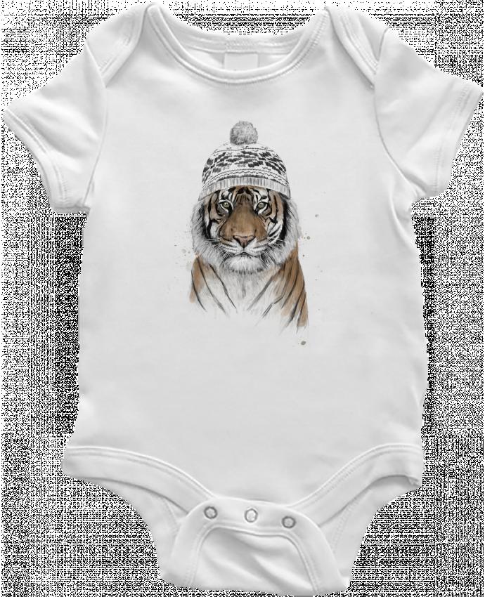 Body Bebé Siberian tiger por Balàzs Solti