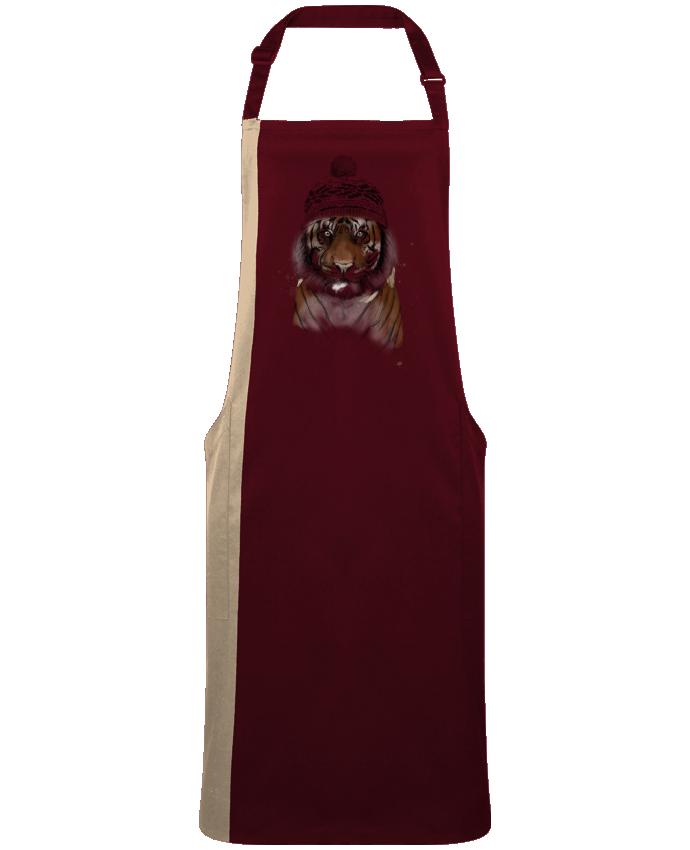 Delantal Bicolor Siberian tiger por  Balàzs Solti