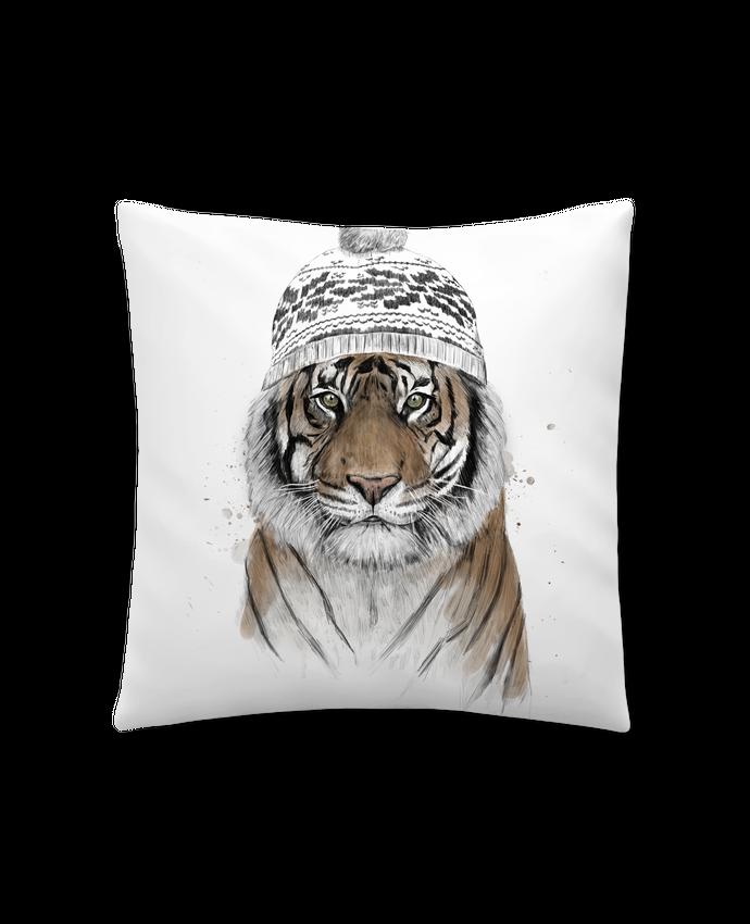 Cojín Sintético Suave 45 x 45 cm Siberian tiger por Balàzs Solti