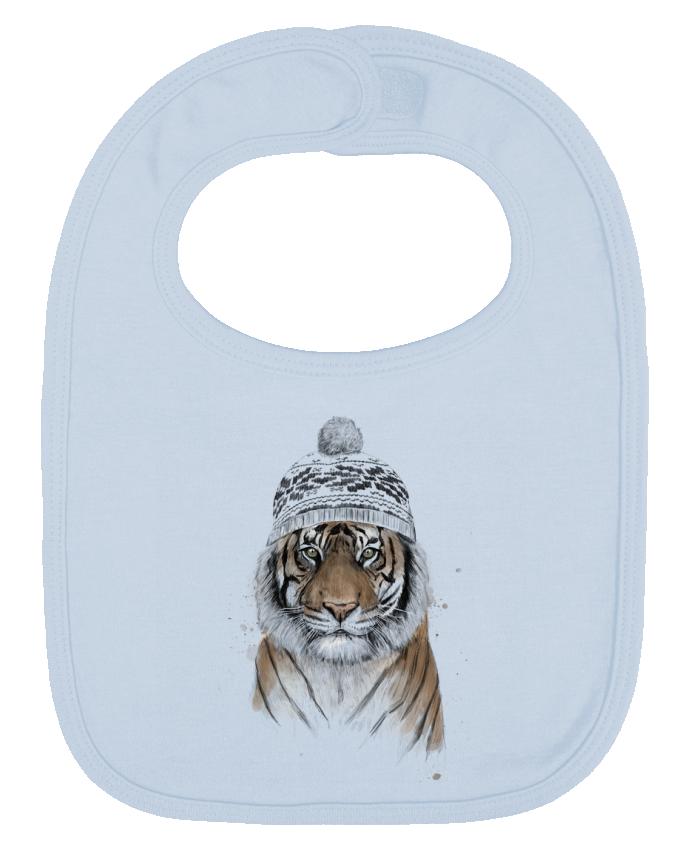 Babero Liso y Contrastado Siberian tiger por Balàzs Solti