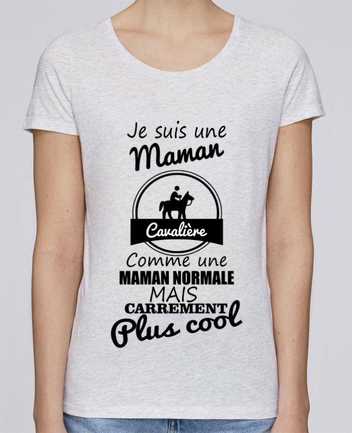 Camiseta Mujer Stellla Loves Je suis une maman cavalière comme une maman normale mais carrément plus cool por Benic