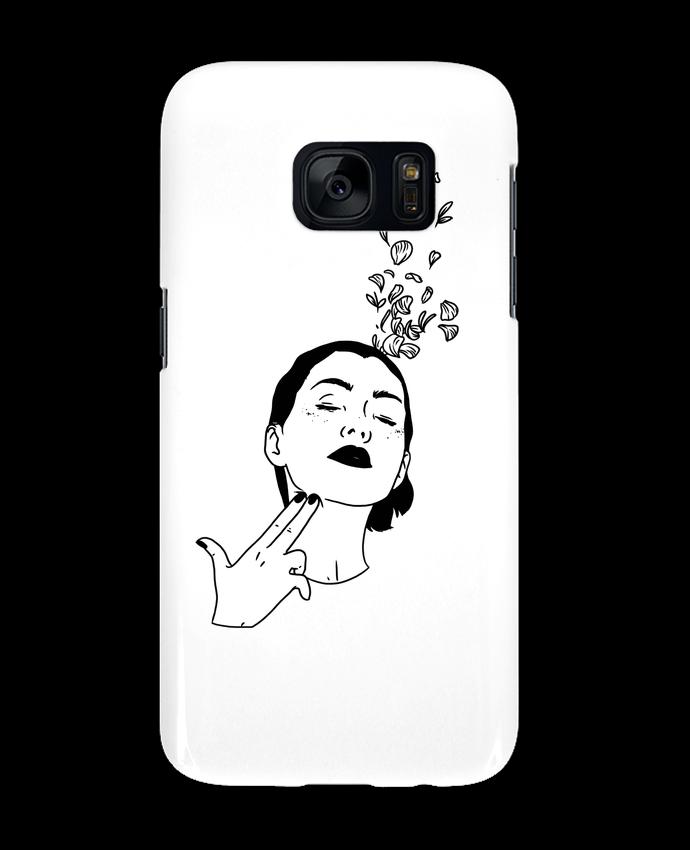 Carcasa Samsung Galaxy S7 Flower suicide por tattooanshort
