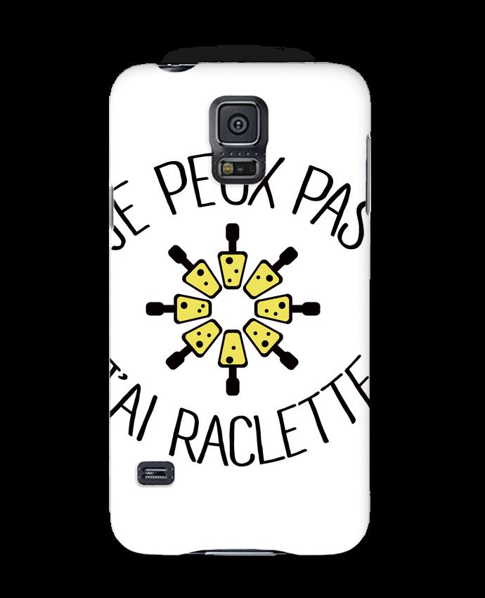 Carcasa Samsung Galaxy S5 Je peux pas j'ai Raclette por Freeyourshirt.com