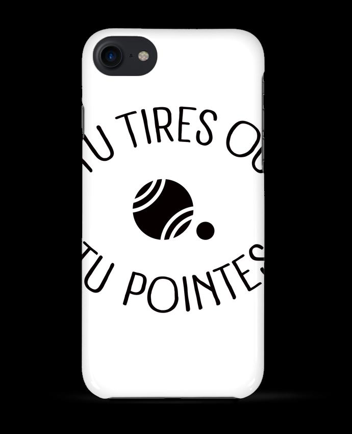 Carcasa Iphone 7 Tu Tires Ou Tu Pointes de Freeyourshirt.com