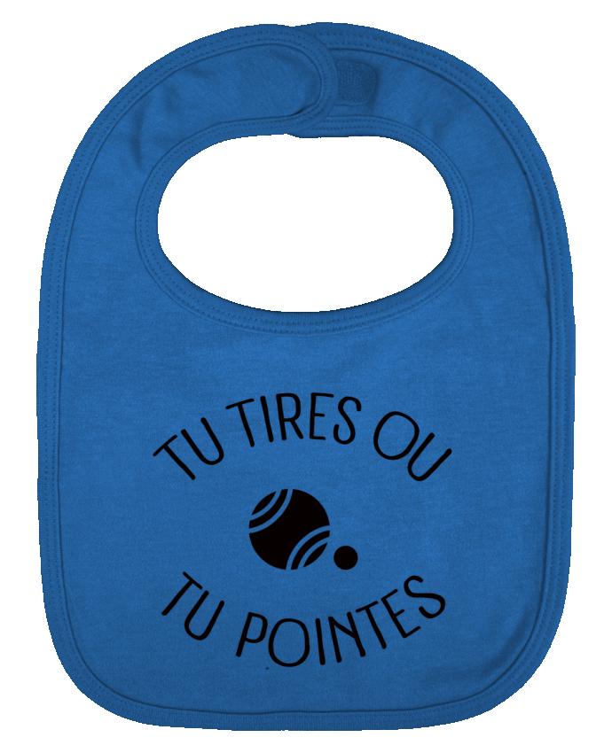 Babero Liso y Contrastado Tu Tires Ou Tu Pointes por Freeyourshirt.com