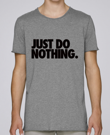 Camiseta Hombre Tallas Grandes Stanly Skates Just Do Nothing por Freeyourshirt.com