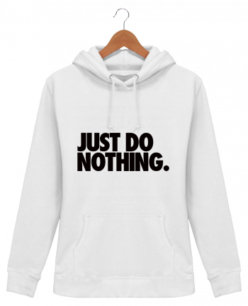 Sudadera Capucha Mujer Just Do Nothing - Freeyourshirt.com