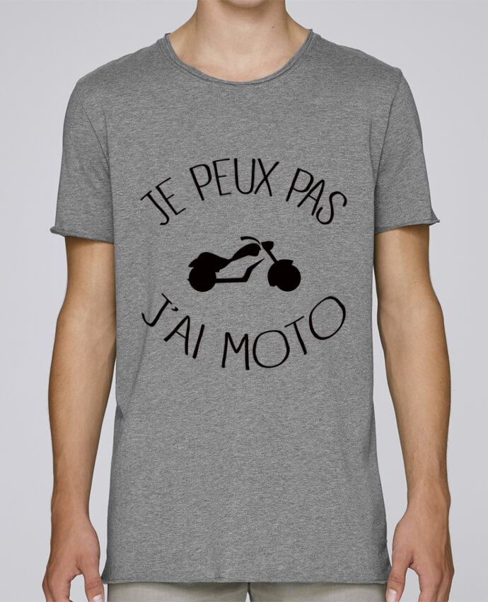 Camiseta Hombre Tallas Grandes Stanly Skates Je Peux Pas J'ai Moto por Freeyourshirt.com
