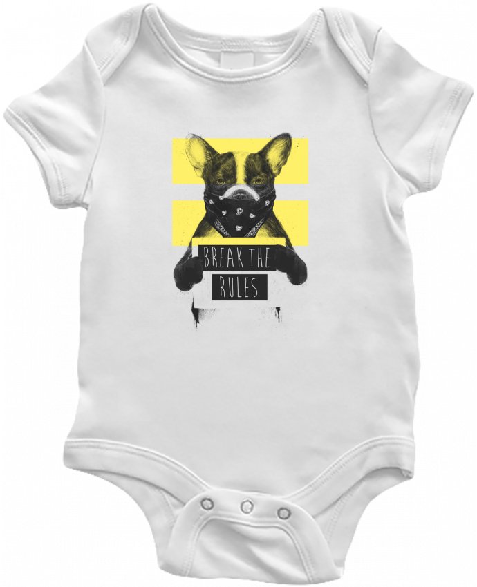 Body Bebé rebel_dog_yellow por Balàzs Solti