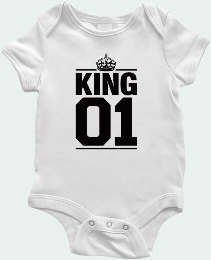Body Bebé King 01 por Freeyourshirt.com
