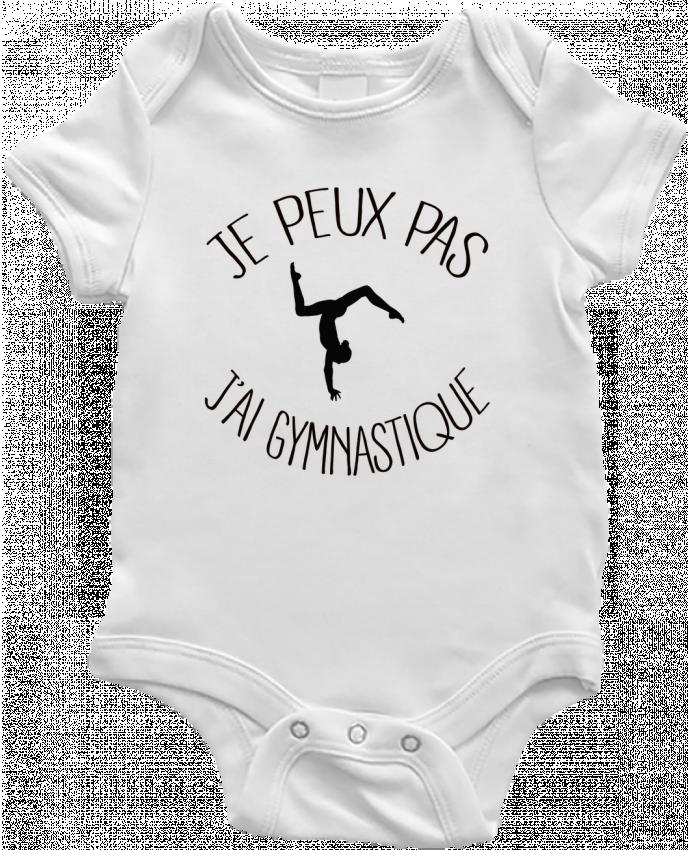 Body Bebé Je peux pas j'ai gymnastique por Freeyourshirt.com